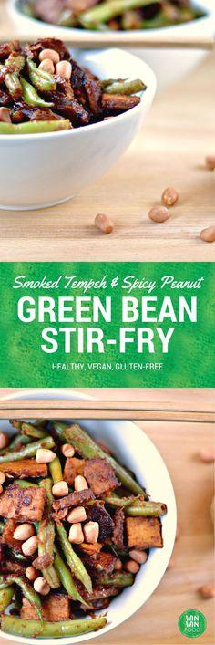 Green Bean Stir Fry | WIN-WINFOOD.com #healthy #vegan #glutenfree