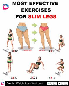 home leg workout videos ~ home leg workout . home leg workout no weights . home leg workout men . home leg workout with bands . home leg workout with weights . home leg workout for men . home leg workout videos Slim Legs Workout, Skinnier Legs Workout, Back Of Thigh Workout, Leg Workout Women, Weights Workout For Women, Best Leg Workout, Fat Workout, Gym Workouts, At Home Workouts