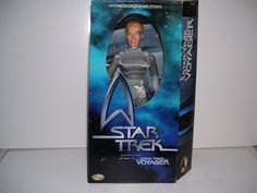 1998 star trek voyager seven of nine action figure.
