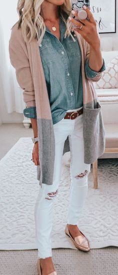 Fall Outfits For Women You'll Want To Copy This Year - mode outfits Perfect Fall Outfit, Casual Fall Outfits, Fall Winter Outfits, Spring Outfits, Trendy Outfits, Casual Winter, Dress Casual, Winter Chic, Casual Shoes