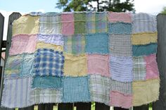 love vintage quilts for babies