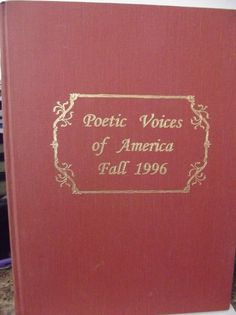 #Poetic Voices of #America Fall 1996 Book First Edition #Sparrowgrass #Poetry Forum