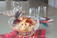 Salade d endives au chorizo croustillant