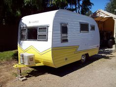 FOR MIKE- SHOWS HOW THEY RESTORED THIS TRAILER-1958 Westerner Travel Trailer