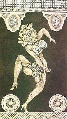 Ramona bailarina, 1966, xilocollage, 55 x 39,9 cm. Col. privada