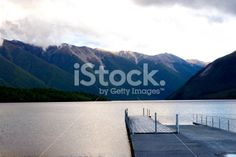Jetty, Lake Rotoiti, Nelson Lakes National Park, NZ Royalty Free Stock Photo Image Now, Nature Photos, Lakes, National Parks, Royalty Free Stock Photos, Beach, Photography, Outdoor, Outdoors