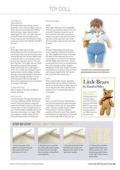 Simply Knitting November 2015 - 轻描淡写 - 轻描淡写