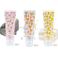 Rilakkuma X A'PIEU Limited Edition Rilakkuma 3 Type Cleansing Foam- Mud, Milk, Jelly