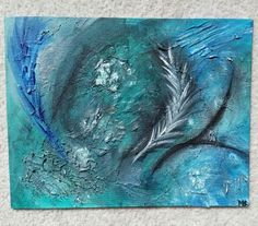 Feathers in the wind - 11x14  Www.facebook.com/MLARTuDESiGN