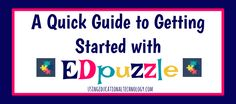 EDpuzzle is a fabulous tool for your classroom! Create interactive video lessons for FREE with this amazing and easy to use tool!
