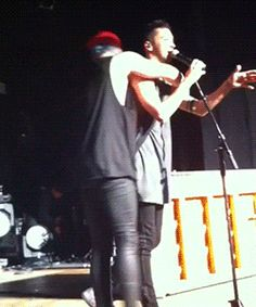 Twenty One Pilots. Tyler and Josh's friendship is the best.