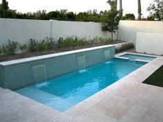 Stock Tank Swimming Pool Ideas, Get Swimming pool designs featuring new swimming pool ideas like glass wall swimming pools, infinity swimming pools, indoor pools and Mid Century Modern Pools. Find and save ideas about Swimming pool designs. Pools For Small Yards, Small Backyard Pools, Outdoor Pool, Small Backyards, Pool Decks, Sloped Backyard, Large Backyard, Small Inground Swimming Pools, Swimming Pool Designs