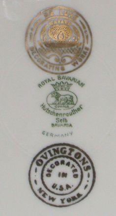 Table of Fine Porcelain Marks and Efineantiques Fine Porcelain