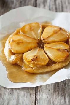 NOMU is an original South African food and lifestyle concept by Tracy Foulkes. Tarte Tartin, Pear Tarte Tatin, Pear Brandy, Butter Puff Pastry, Pyrus, South African Recipes, Snack Recipes, Snacks, Sweet Pie