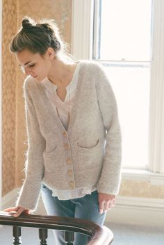Uniform Cardigan by Carrie Bostick Hoge (knitting, sweaters, bottom up, madder)