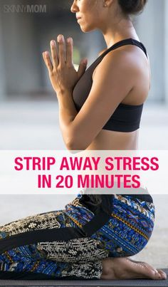 Try this stress relieving yoga workout!