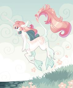 frogbians: a tiny dainty unicorn girl