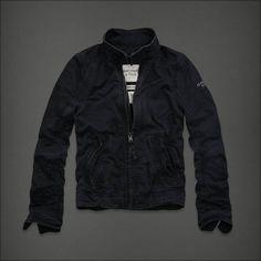 Abercrombie & Fitch Men Worn-in Jacket.