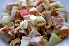 Salade met brie, meloen en kip – Home
