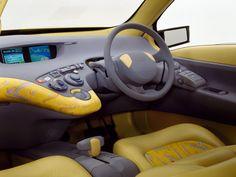 Dashboard Nissan CQ-X Concept '1995