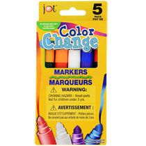 Put the magic back in magic markers! Fun colorful markers go onto the page in one color, but when writing over the ink of a pen, they turn the ink color into th Best Kids Watches, Craft Items, Ink Color, School Supplies, Color Change, Markers, Dollar Tree, Fun Time, Crayons