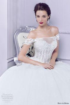 Rico-A-Mona 2015 Wedding Dresses — Parisian Blush Bridal Collection   Wedding Inspirasi