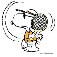 Joe Cool plays tennis ! ;->