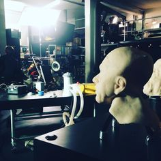 """An awesome Virtual Reality pic! Still shooting """"Philip and I"""" day 5 !!! Almost done one more day !!! #VR #oculus #VirtualReality #scifi #philipkdick @okiostudio @wearesaintgeorge @arte.tv @arte_creative @artefr #gearv #samsunggear #cardboard by toniopadawan check us out: http://bit.ly/1KyLetq"""