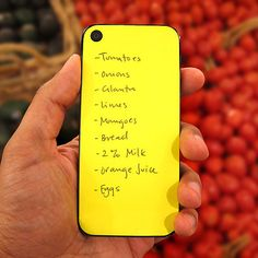 sticky notes for your phone!  cool!