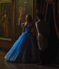 "mademoisellelapiquante: "" Lily James and Richard Madden in Cinderella - 2015 "" Cinderella Live Action, Cinderella Disney, Cinderella Dresses, Disney Princess, Cinderella Aesthetic, Princess Aesthetic, Disney Love, Disney Magic, Cinderella Cosplay"