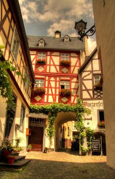 Altes Fachwerkhaus in Beilstein, Germany
