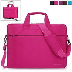 BRINCH® 15.6 Inch Oxford Fabric Lightweight Laptop Shoulder Case Messenger Bag For 15 - 15.6 Inch Laptop / Notebook / MacBook / Chromebook Computers with Shoulder Strap Handle and Pockets (Pink) BRINCH(TM) http://www.amazon.com/dp/B012ZMJM8G/ref=cm_sw_r_pi_dp_ZSd6wb0FEE0V0