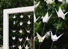 Origami Crane Wedding Ideas