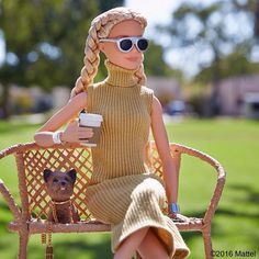 WEBSTA @ barbiestyle - Did someone say sweater weather? #barbie #barbiestyle