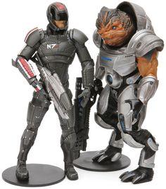 I like them all, but I love Tali! :) Mass Effect Figures