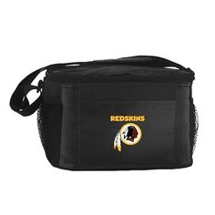 NFL 2014 6 Pack Cooler Lunch Tote (Washington Redskins)