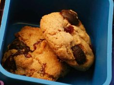Food Network Kitchen made these cookies small for built-in portion control, and added whole-wheat flour and dried fruit for a nutritional boost.