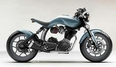 Mac Motorcycles out of U.K - Buell Blast! Streetfighter kit - never saw prod. w/ demise of BMC