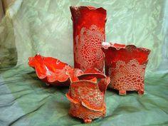 Fehérvári Ildikó's handmade ceramics