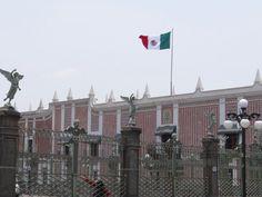 Atrio de los Ángeles. Puebla Mx.