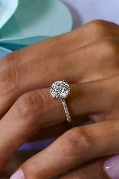 30 The Most Beautiful Gold Engagement Rings ❤️ gold engagement rings rose gold pave band diamond ❤️ See more: http://www.weddingforward.com/gold-engagement-rings/ #weddingforward #wedding #bride #engagementrings #goldengagementrings