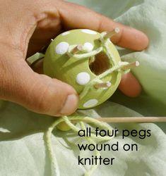 star haus: Make it- Spool Knitting