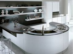 14 Incredible Kithen Sink Design Ideas - Transformers, Space-savers and Vintage - Interior Design Inspirations