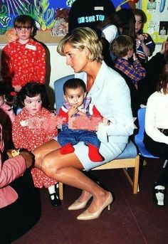 Pricless picture of such a very loving soul who loved children and the whole world.
