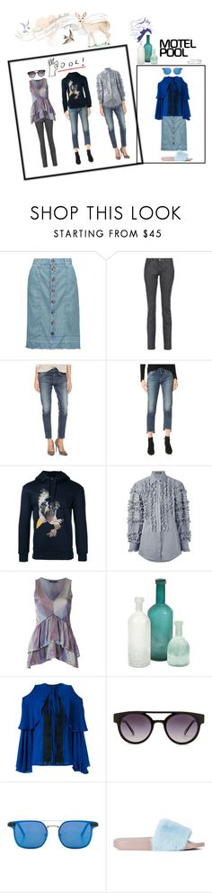 """""""trending star¶"""" by racheal-taylor on Polyvore featuring Current/Elliott, Dolce&Gabbana, Citizens of Humanity, Neil Barrett, Cecilia Pradomurion, Home Decorators Collection, Elie Saab, Komono and Spitfire"""
