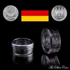 Münzring 10 Euro Himmelsscheibe von Nebra (BRD) 925 iger Silber - The Other Coin