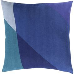 Decorative Lennon 22-inch Poly or Down Filled Pillow - 18189848 - Overstock.com Shopping - Great Deals on Throw Pillows
