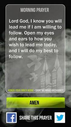 Bob Hostetler's Prayer Blog: Lead Me Today