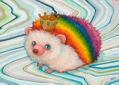 by Camilla d'Errico......// RAINBOWS JOY AND FUN AS WE ROUND INTO ANOTHER EXCITING SHIFT...LOVE TO ALL...linda lu