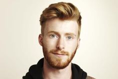 Handsome Red Haired Man with Beard